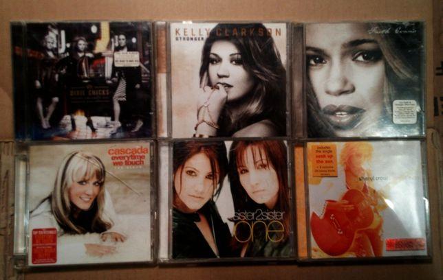 Zestaw 6 pełnych płyt CD