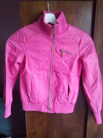 kurtka różowa sztuczna skóra Reserved 134