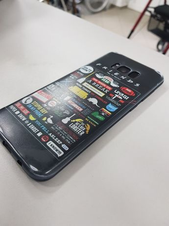 Etui Samsung Galaxy s8 plus. Friends