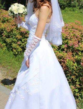 Эксклюзивное свадебное платье. Размер 42/44
