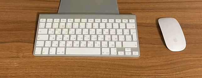 Клавиатура + мышка Apple Keyboard + Apple Mouse