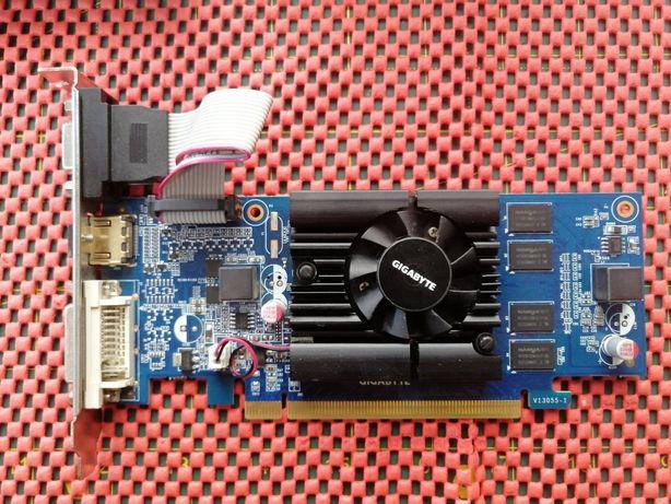 Офісна відеокарта Gigabyte GT210 1GB (GV-N210D3-1Gl)