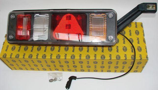 Lampa tylna HELLA (KRONE, KOGEL, WIELTON) z obrysem LED