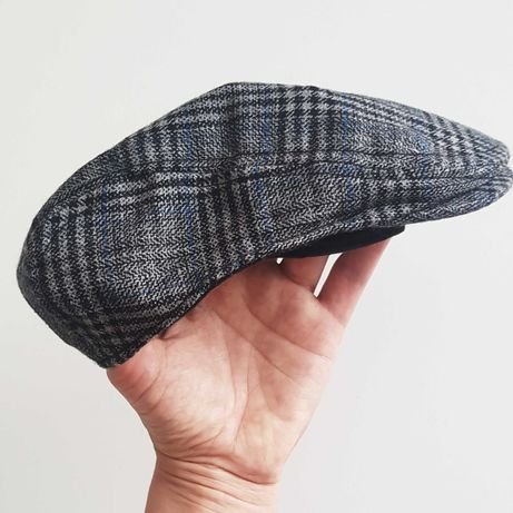 Kaszkiet elegancka czapka dla chłopca firmy next chrzest