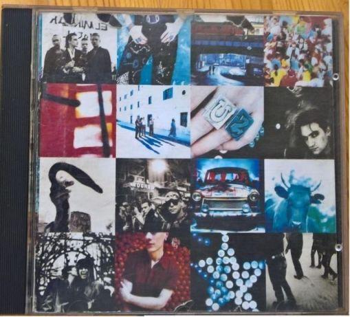 U2 - Achtung, baby CD.