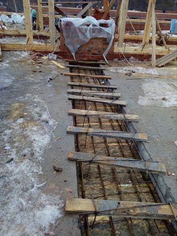 Земляные работы и бетонные работы