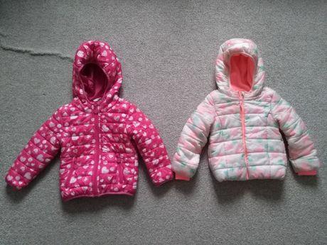 Kurtka jesienna, zimowa dla dziewczynki, rozmiar 92