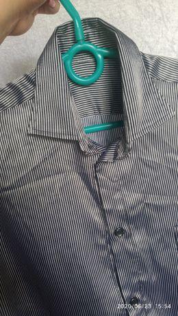 Атласная рубашка, школьная