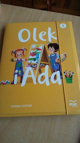 Olek i Ada wyprawką plastyczna.