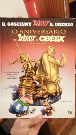 ' O Aniversário de Astérix & Obelix ' - O Livro de Ouro