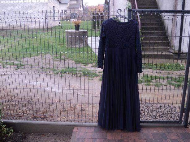 Sukienka wieczorowa na podszewce rozmiar 42