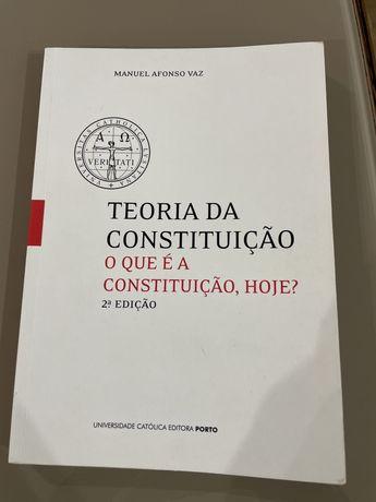 Teoria da constituição - o que é a constituição, hoje?