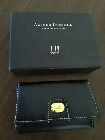 Conjunto porta-chaves originais Dunhill e Pierre Cardin