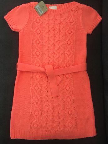 Тёплое платье, туника для девочки Crazy8 (США) 7 лет! Оригинал!