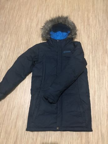 Продам пальто-пуховик Columbia omni-heat (пух-перо) (М) 152/164 размер
