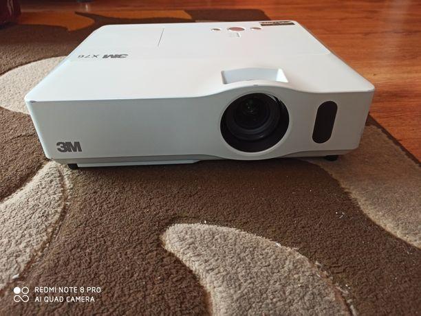 Projektor LCD 3M X76 jak nowy
