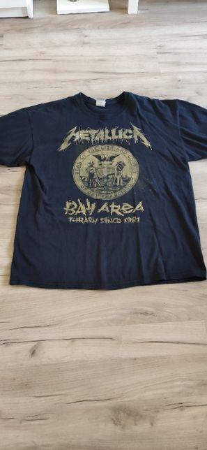 metallica koszulka unikat bay area trash