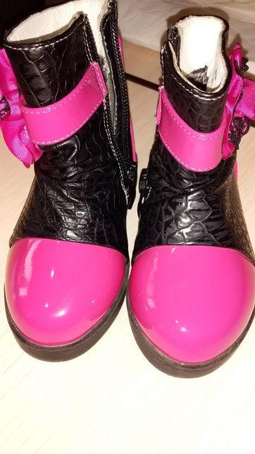 Осенние ботиночки на девочку