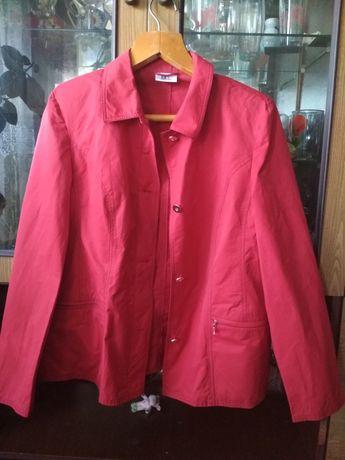 Куртка пиджак красная
