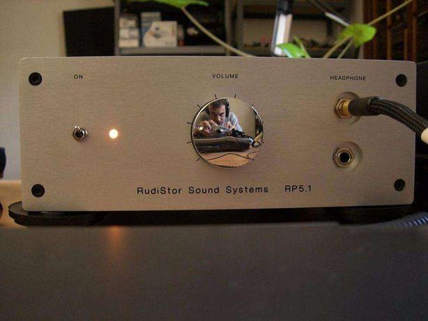 Amplificador a válvulas Rudistor RP5.1