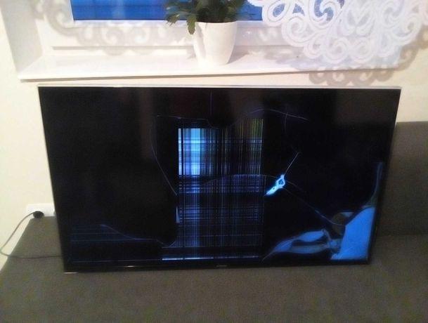 Telewizor TV Samsung uszkodzony na czesci
