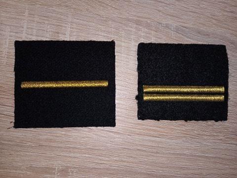 Stopień wojskowy mat starszy marynarz MW