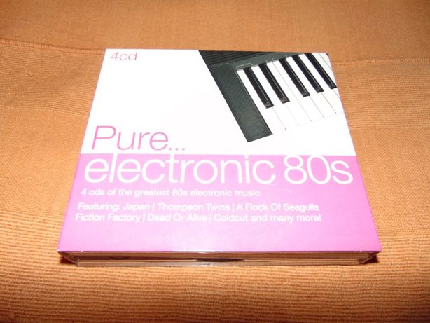 Pure...Electronic 80's 4 CD's