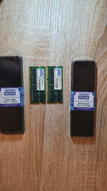 Pamięć DDR 3 do laptopa 2x4GB GOOD RAM 1333 Mhz