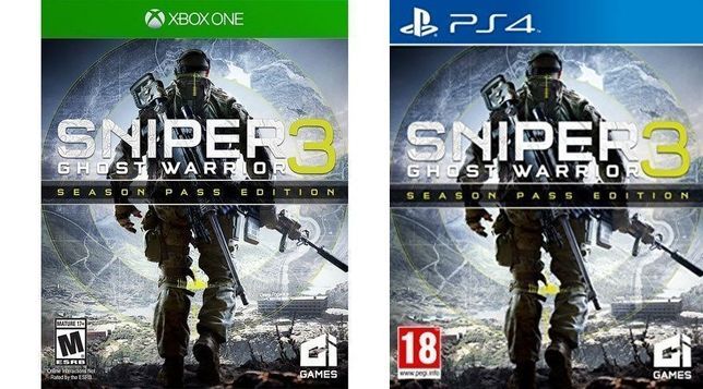 Sniper Ghost Warrior 3 Rayman Origins Legend Dying Light Xbox One PS4