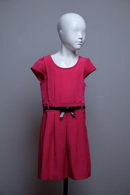 Sukienka New Look fuksja 134 cm 9 lat na sylwetce wygląda piękniej