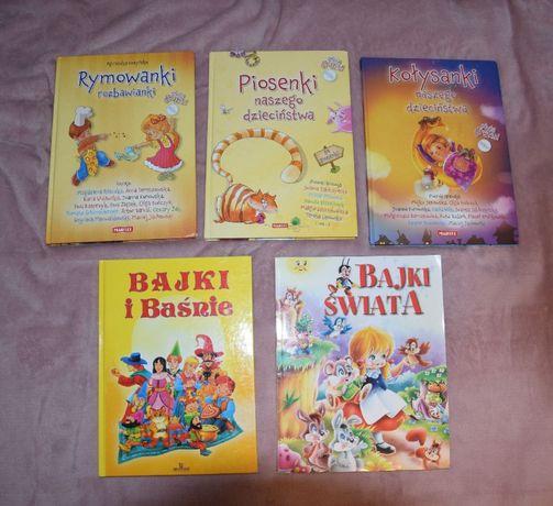 Zestaw książek dla dziecka + CD