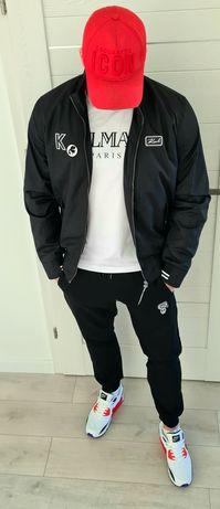 kurtka, dres Karl Lagerfeld czarna bomberka wiatrówka XL XXL XXXL