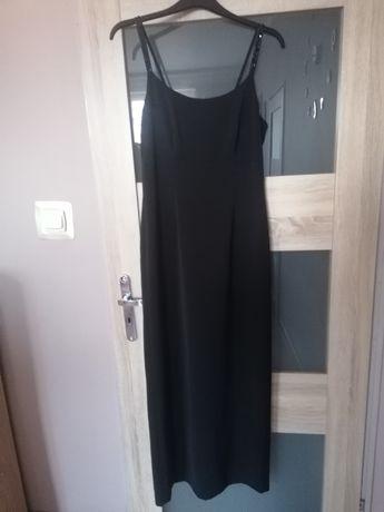 Sukienka czarna maxi