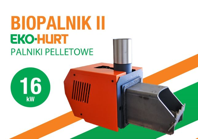 Palnik pelletowy BIOPALNIK II 16 kW palnik pellet podajnik