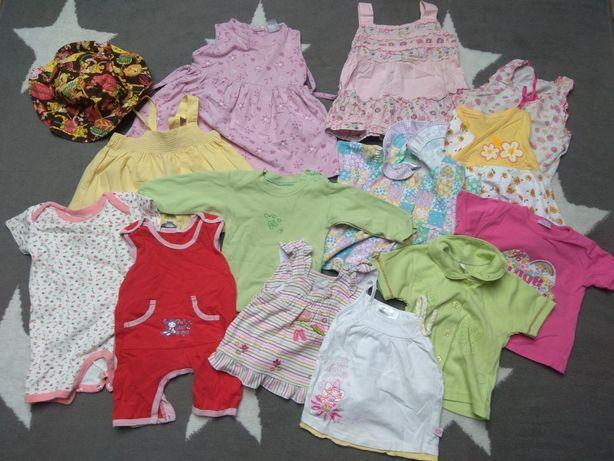Opaski, sukienki, koszulki 68-74