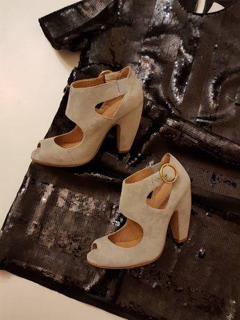 Босоножки Zalando 37 туфли Zara Mango