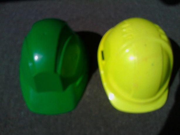 2 Capacetes Protecção Nas Obras Novos