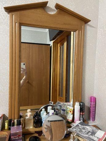 дзеркало(натуральне дерево)
