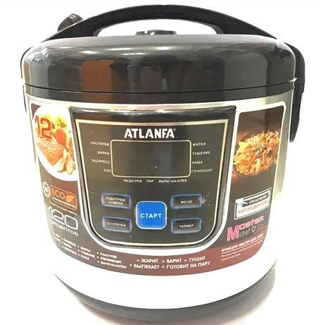 Мультиварка ATLANFA 6Л 900Вт 12 прогр скороварка рисоварка пароварка.