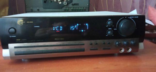 AV - ресивер усилитель CAT CS-900 Dolby Surround Pro-Logic 2х75вт 8ом.