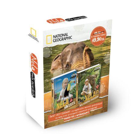 Pakiet: Nela i tajemnice świata / Nela na tropie przygód