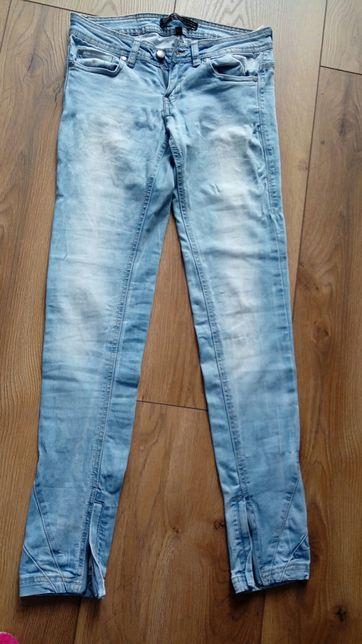 Spodnie jeansy Bershka rurki