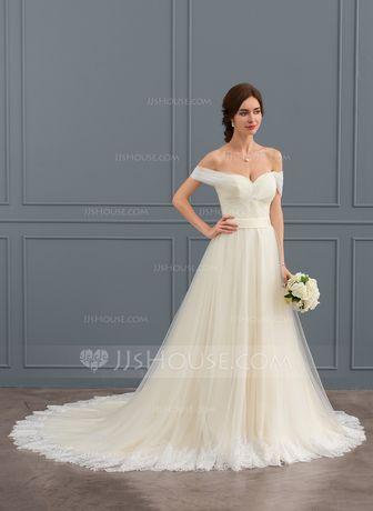 Свадебное платье БЕЛОГО цвета Размер (48-50)