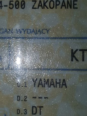 Dokumenty yamaha dt 80 mx 1987