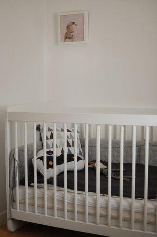 Łóżeczko dziecięce 140 x 70 VOX z materacem