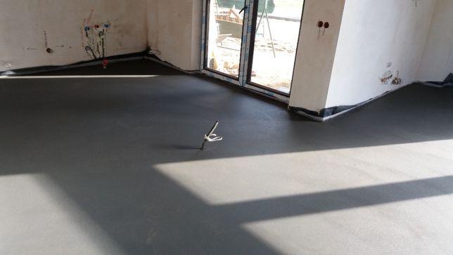 Wylewki cementowe MIXOKRET, anhydryt, styrobeton, samopoziom
