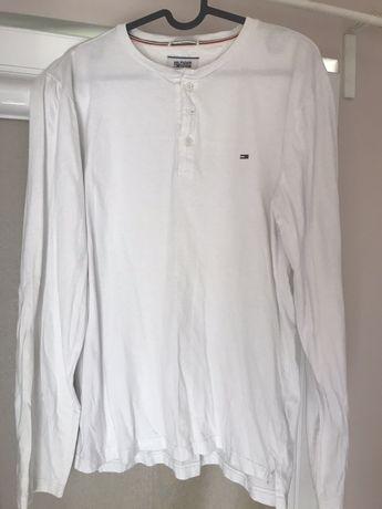 Longsleeve bluzka z długim rękawem Tommy Hilfiger oryginal M