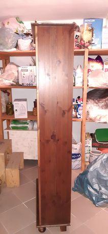 Regał drewniany, sosnowy