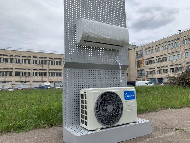 Кондиционер новый не БУ инвертор Midea тепловой насос (до 20 кв.м)