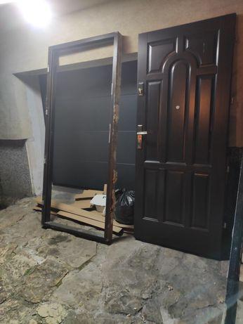 Sprzedam drzwi + futryna (niestandardowy rozmiar)